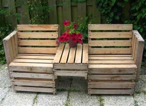 making a garden bench el detalle que hace la diferencia palet mania