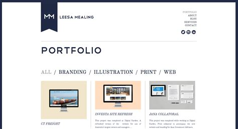design online portfolio 10 online portfolios that are sure to inspire skillcrush