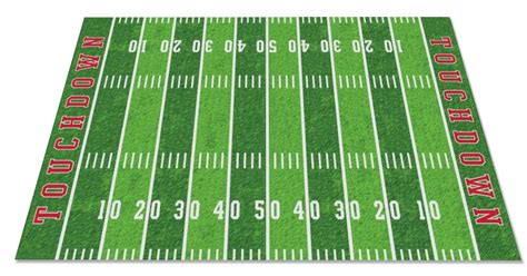Football Field Rug Kidcarpet Com Soccer Field Area Rug