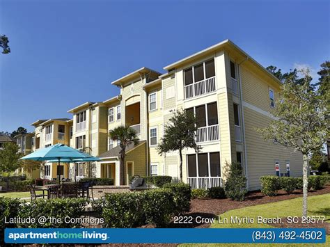 one bedroom apartments in myrtle beach latitude the commons apartments myrtle beach sc