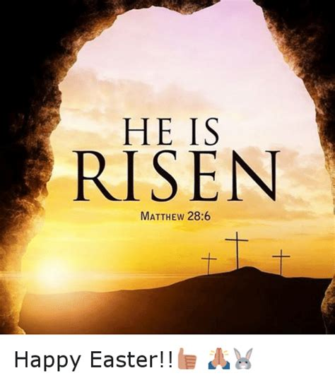 Religious Easter Memes - he is risen meme 28 images happy easter 2016 best