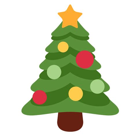 christmas tree emoji file twemoji 1f384 svg wikimedia commons
