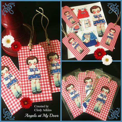 Make Paper Doll - make paper doll tags reader tutorial the graphics