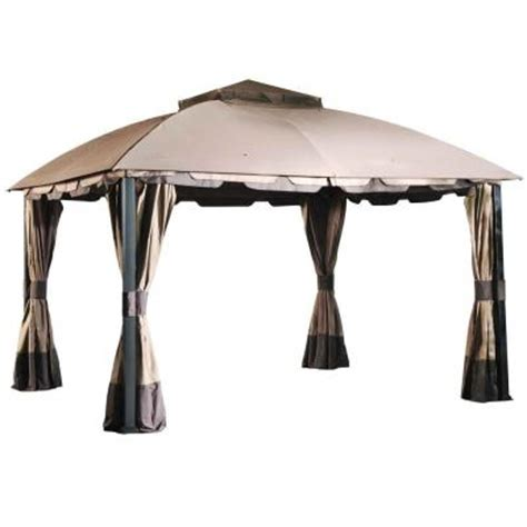 sunjoy 12 ft x 10 ft domed top gazebo l