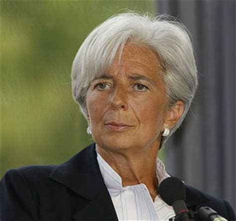 Style Goes Global With Christine Cabusas by Christine Lagarde The Eleventh European To The Imf