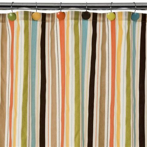stripe shower curtains striped shower curtain casual cottage