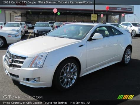 white cadillac cts coupe white tricoat 2011 cadillac cts coupe