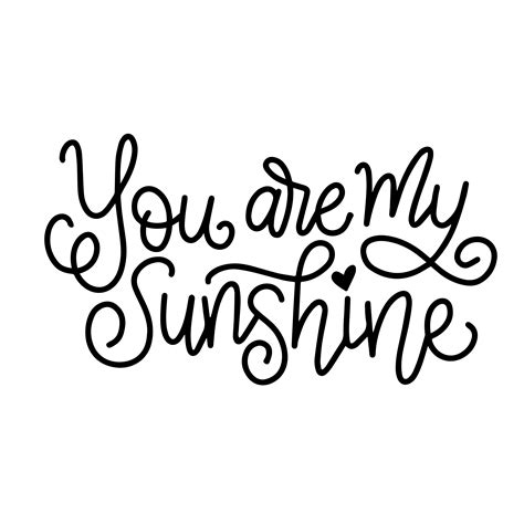 svg image lettered you are my free svg cut file