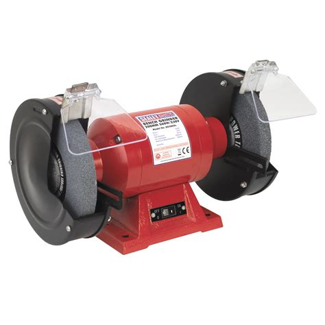 sealey bg200xl bench grinder 200mm 560w 240v bg 200 xl