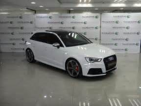 Audi Rs3 For Sale In South Africa 2016 White Audi Rs3 Sportback Quattro R 930 000 In Vereeniging