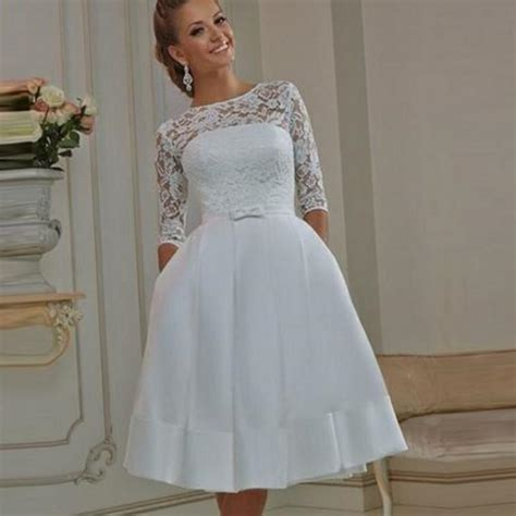 Casual Wedding Dresses by Plus Size Informal Wedding Dresses Pluslook Eu Collection
