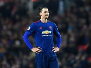 Zlatan Ibrahimovic Manchester United Forward Zlatan Ibrahimovic Hits Out