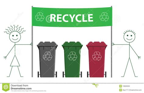 banner design recycle recycling banner royalty free stock images image 19909009
