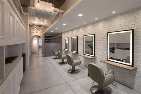 barl hair salon by pebble okayama japan 187 retail design
