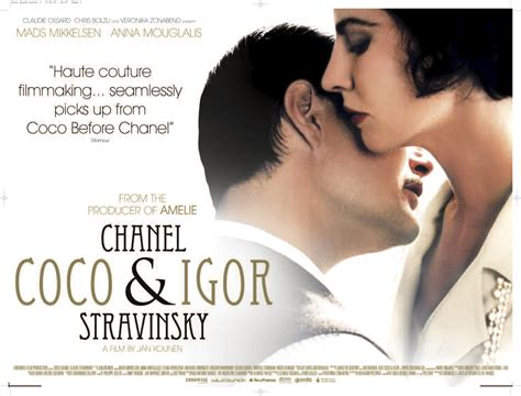 film coco et stravinsky coco chanel igor stravinsky movies cinema blu ray