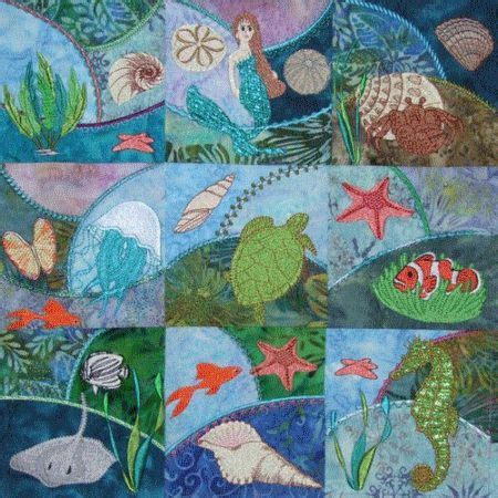 Oregon Patchwork - gorgeous undersea quilt ideas for a quilt project