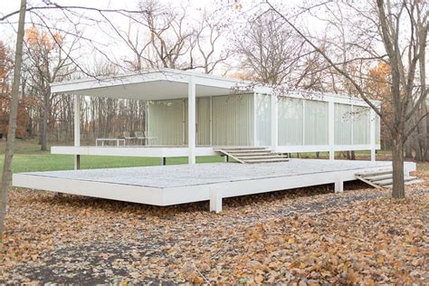 farnsworth house mid century modern america 10 classic houses for the ages urbanist