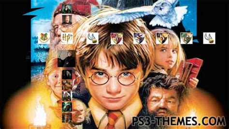 theme exles in harry potter ps3 themes 187 harry potter 2
