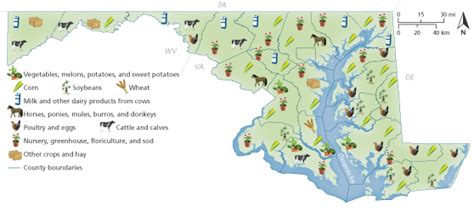 maryland agriculture map farming in maryland map related keywords suggestions
