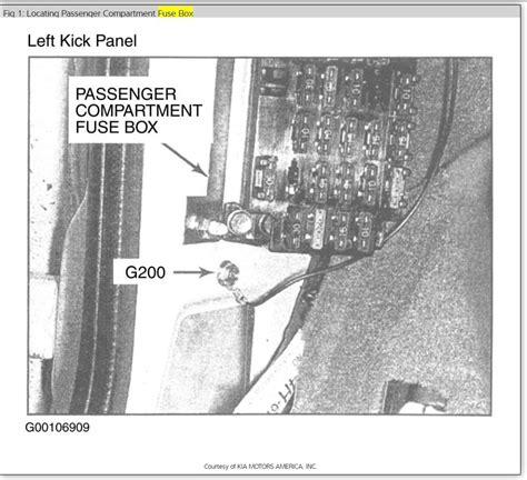 2001 kia sportage fuse diagram free wiring