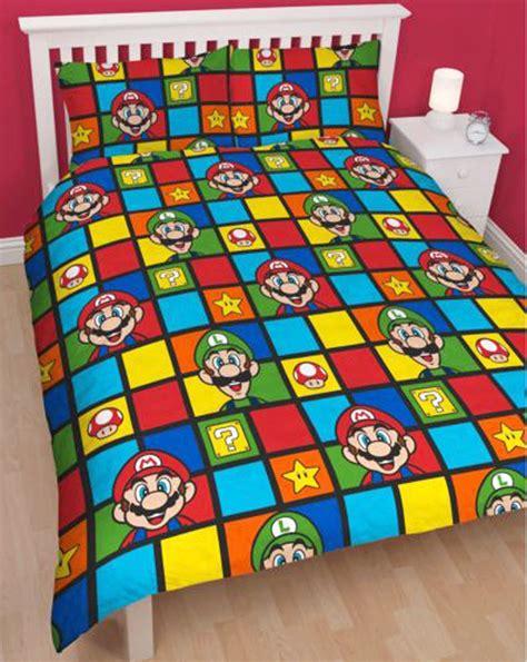 super mario comforter set nintendo super mario bros retro double duvet quilt cover