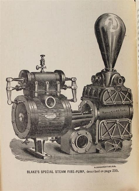 antique 1889 illustrated american department steam engines book ebay