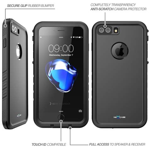 iphone 8 8 plus nexcase waterproof cover integrated protector protect my phones