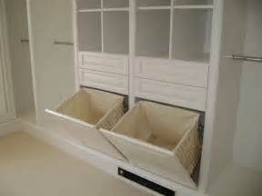 bathroom cabinet with built in laundry custom closets wood traditional closet new york by