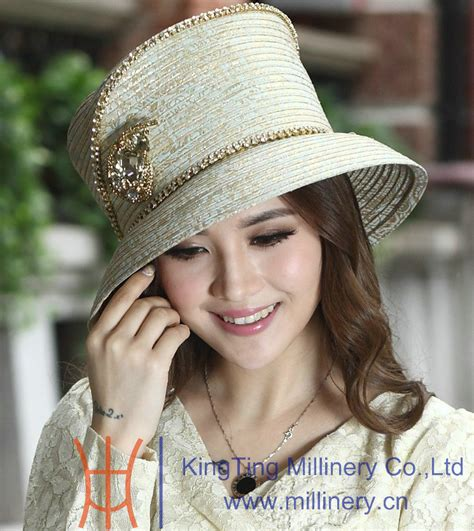 aliexpress buy free shipping dress hats satin