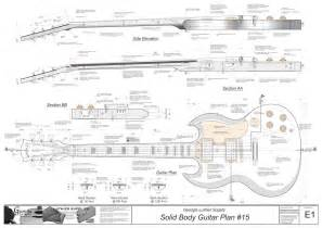 useful acoustic guitar plans and templates deasining