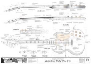 Gibson Sg Template by Gibson Sg Plans Arte Gibson Sg Guitars
