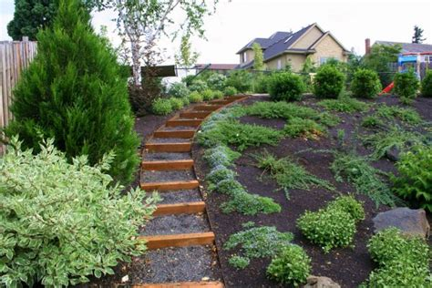 how to landscape a hill landscaping ideas for slopes outdoor decorating ideas