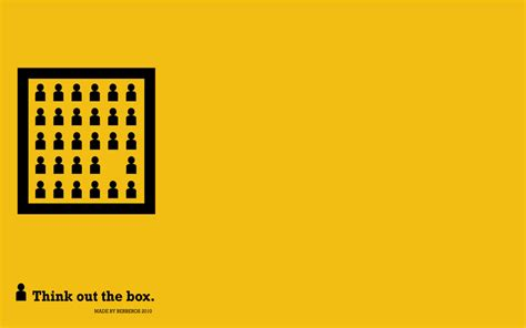 Think Out The Box think out the box wallpapper by berberos on deviantart