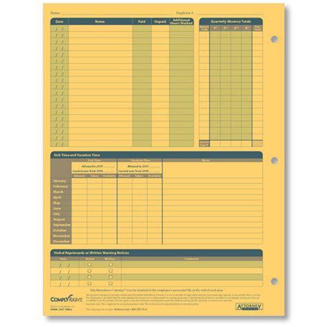 Calendar In Sheets Monthly Employee Attendance Calendar Sheets Blank Forms