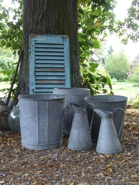 Galvanized Garden Planters by Discover And Save Creative Ideas
