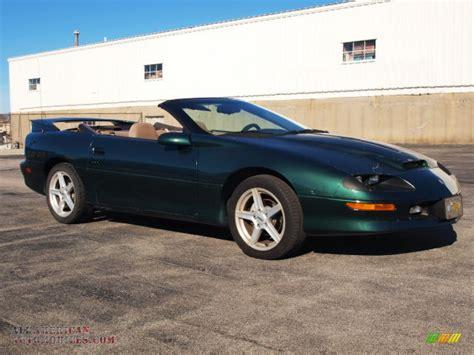 camaro z28 1995 1995 chevrolet camaro z28 convertible in polo green