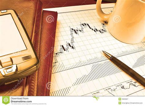pda bank pda on stock chart stock image image of chart banking