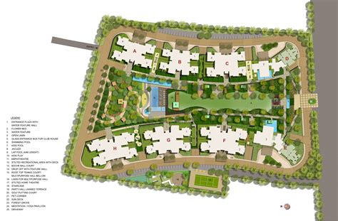 layout jade kalpataru jade residences in baner pune apartments in