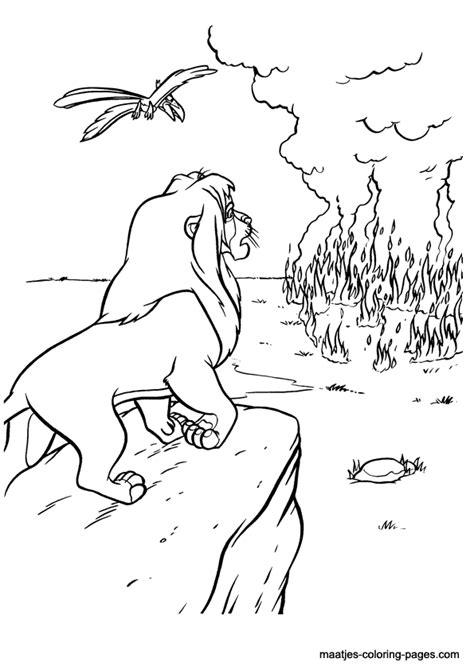 lion king 2 kovu coloring pages images femalecelebrity
