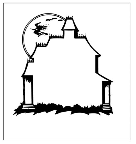 free printable haunted house template haunted house template clipart panda free clipart images
