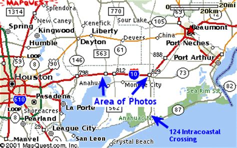 winnie texas map texasfreeway gt statewide gt photo gallery gt rural views gt interstates gt ih 10 gt river to