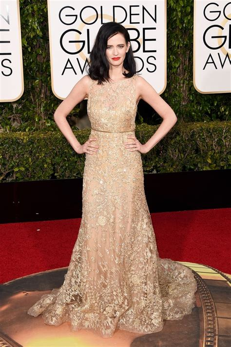 10 And Golden Globe Dresses To Crush On by Green Golden Globes 2016 Carpet Fashion What