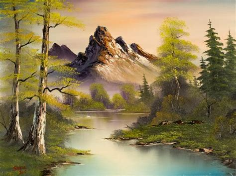 can you buy bob ross paintings bob ross mountain splendor paintings bob ross