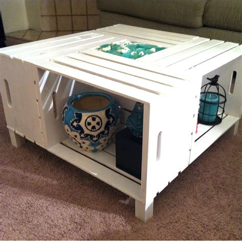 Coffee Table Crate Diy Crate Coffee Table Www Imgkid The Image Kid Has It