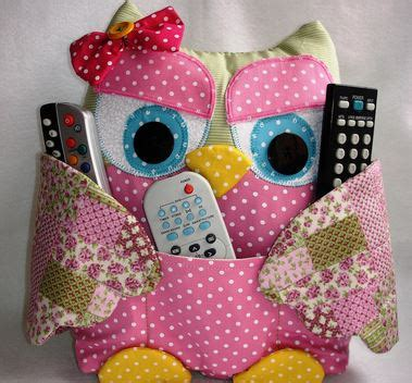 pattern for owl remote holder owl remote control holder sewing pattern video tutorial