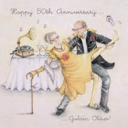 happy 50th anniversary card golden oldies