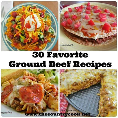 ground beef recipes food main t beef pinterest