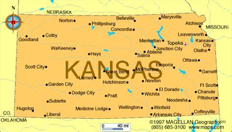 us map states kansas atlas kansas