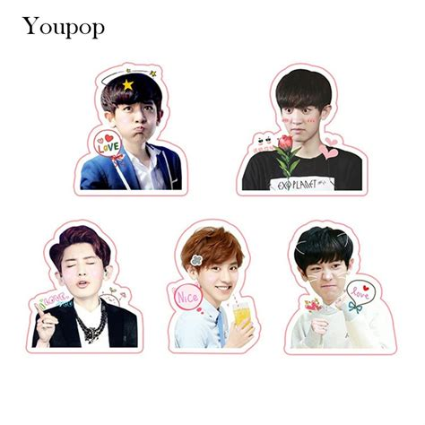 Sale Slingbag Printing Exo Set aliexpress buy youpop kpop exo chanyeol album pvc