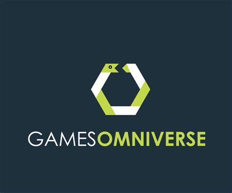 design logo video bold playful logo design for games omniverse by thulet